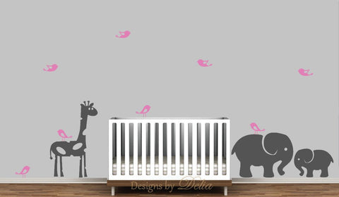 Jungle Decal for Baby Room