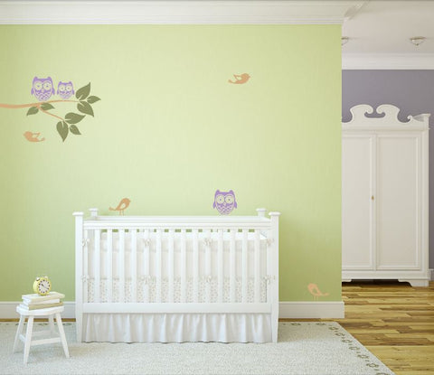 Tree Branch Decal for Baby Room