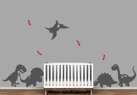 Dinosaurs Wall Decal for Nursery