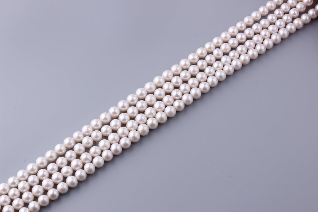 Round Shape Freshwater Pearl 9.5-10.5mm (SKU: 940208 / 1002050) - Wing Wo Hing Jewelry Group - Pearl Jewelry Manufacturer