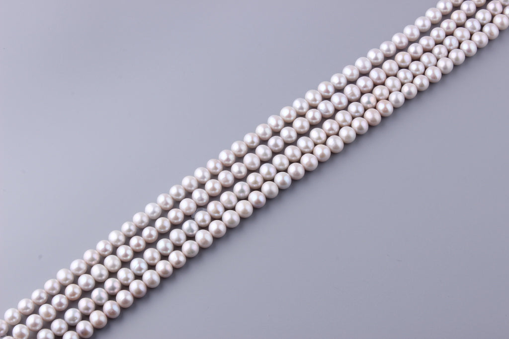 Round Shape Freshwater Pearl 8.5-9.5mm (SKU: 917808 / 1006053) - Wing Wo Hing Jewelry Group - Pearl Jewelry Manufacturer