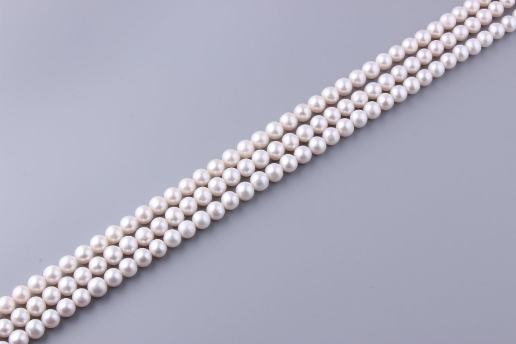Round Shape Freshwater Pearl 9.5-10.5mm (SKU: 934708 / 1002533) - Wing Wo Hing Jewelry Group - Pearl Jewelry Manufacturer