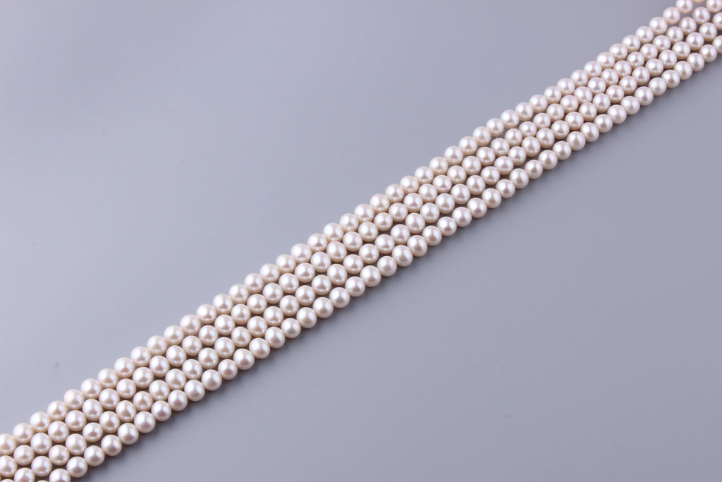 Round Shape Freshwater Pearl 7.5-8mm (SKU: 952608 / 1005428) - Wing Wo Hing Jewelry Group - Pearl Jewelry Manufacturer