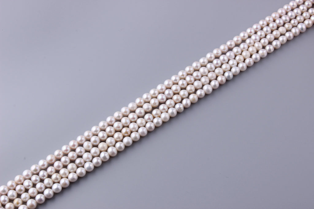 Round Shape Freshwater Pearl 8-8.5mm (SKU: 917308 / 1006047) - Wing Wo Hing Jewelry Group - Pearl Jewelry Manufacturer