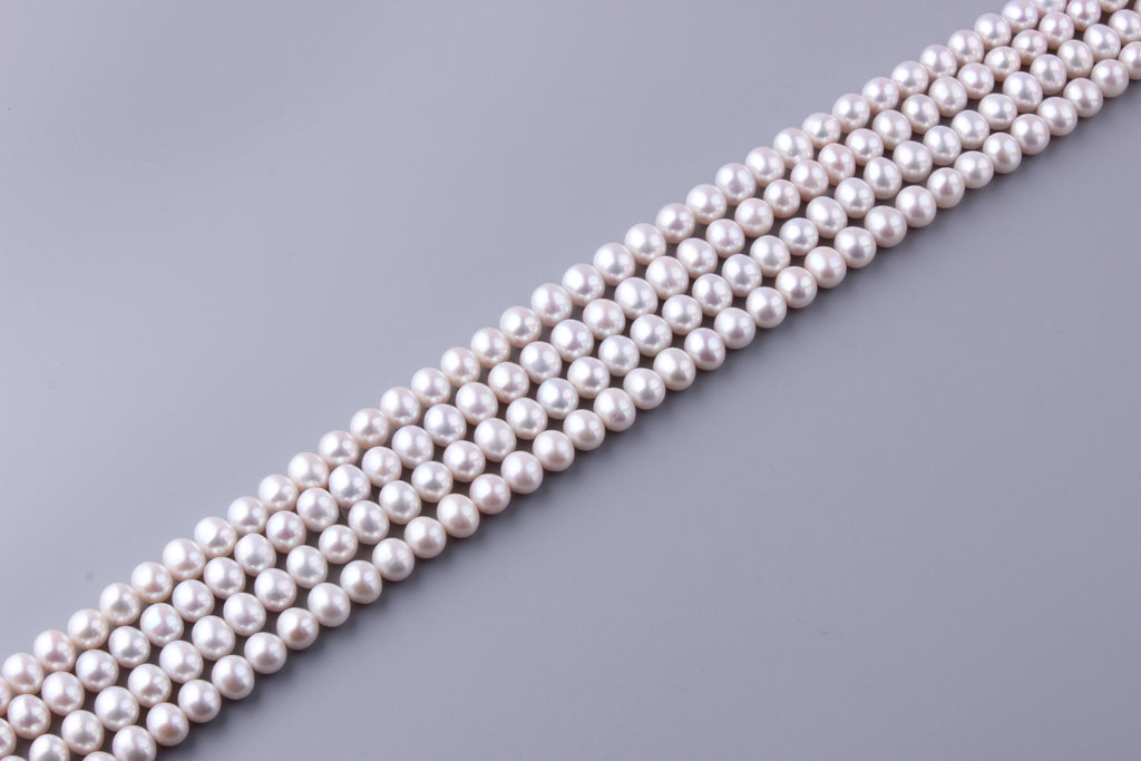 Round Shape Freshwater Pearl 9.5-10.5mm (SKU: 987508 / 1006060) - Wing Wo Hing Jewelry Group - Pearl Jewelry Manufacturer