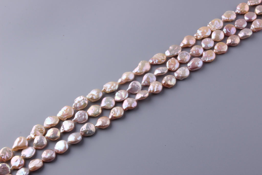 Coin Shape Freshwater Pearl 15-20mm (SKU: 910208 / 1004582) - Wing Wo Hing Jewelry Group - Pearl Jewelry Manufacturer