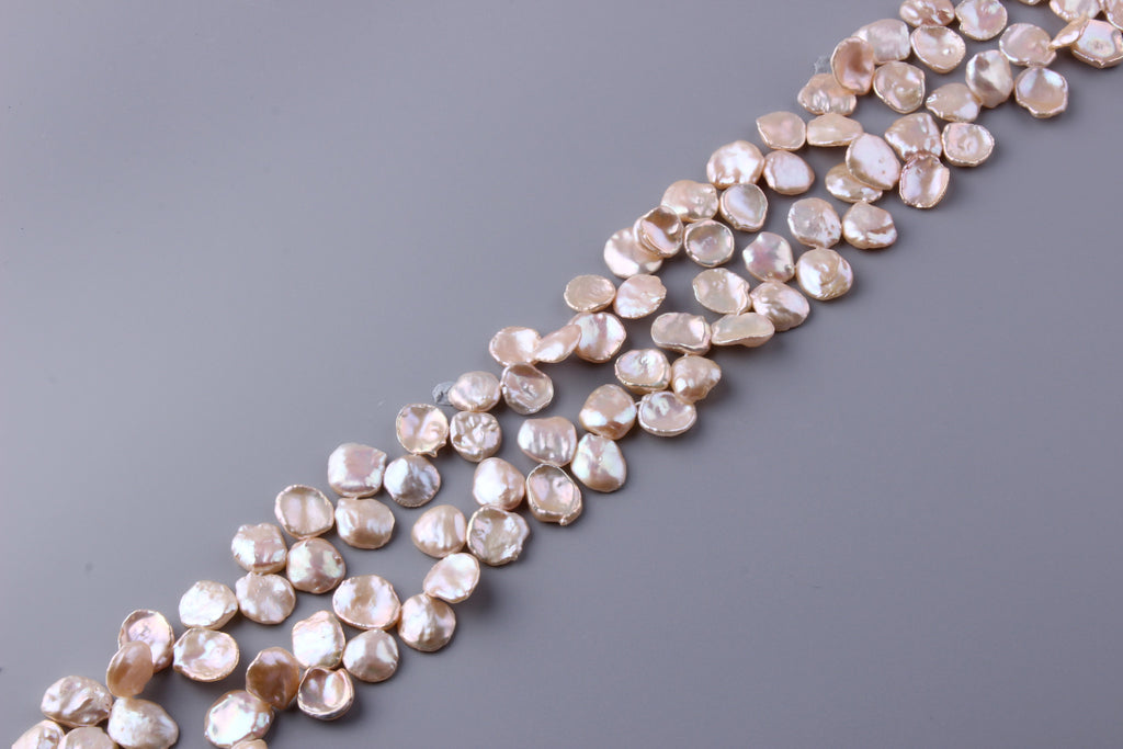 Keshi Shape Freshwater Pearl 13-15.5mm (SKU: 9106308 / 082850) - Wing Wo Hing Jewelry Group - Pearl Jewelry Manufacturer