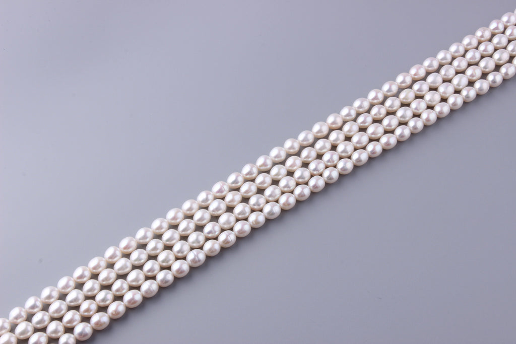Oval Shape Freshwater Pearl 8.5-9mm (SKU: 912408 / 1002253) - Wing Wo Hing Jewelry Group - Pearl Jewelry Manufacturer
