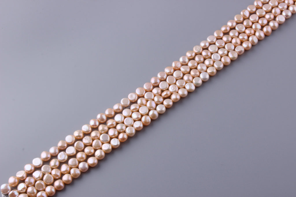 Nugget Shape Freshwater Pearl 8.5-9mm (SKU: 912608 / 1002200) - Wing Wo Hing Jewelry Group - Pearl Jewelry Manufacturer