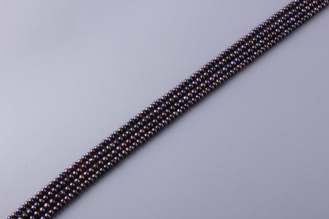 Button Shape Dyed Color Freshwater Pearl 5.5-6mm (SKU: 912608 / 1005059)