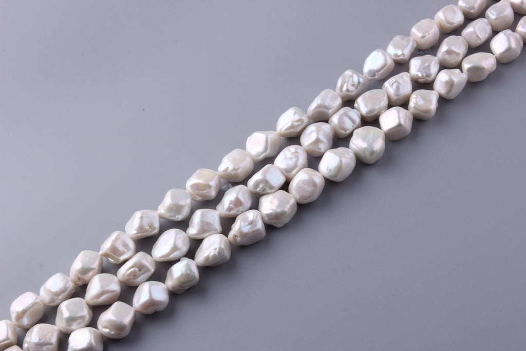 Baroque Shape Freshwater Pearl 15.5-20mm (SKU: 9137108 / 1005387) - Wing Wo Hing Jewelry Group - Pearl Jewelry Manufacturer