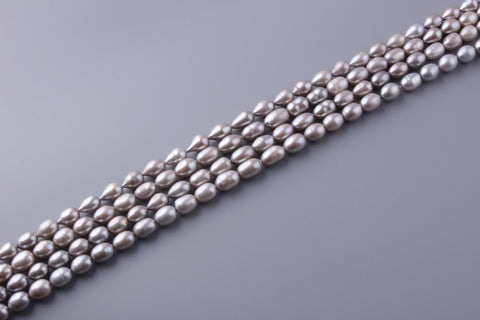 Oval Shape Dyed Color Freshwater Pearl 9-9.5mm (SKU: 914308 / 1003872)