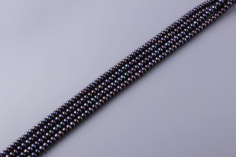 Button Shape Dyed Color Freshwater Pearl 7.5-8mm (SKU: 914708 / 1005266)