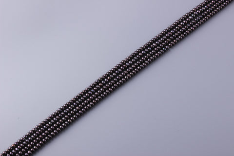 Button Shape Dyed Color Freshwater Pearl 5.5-6mm (SKU: 917108 / 1005058)