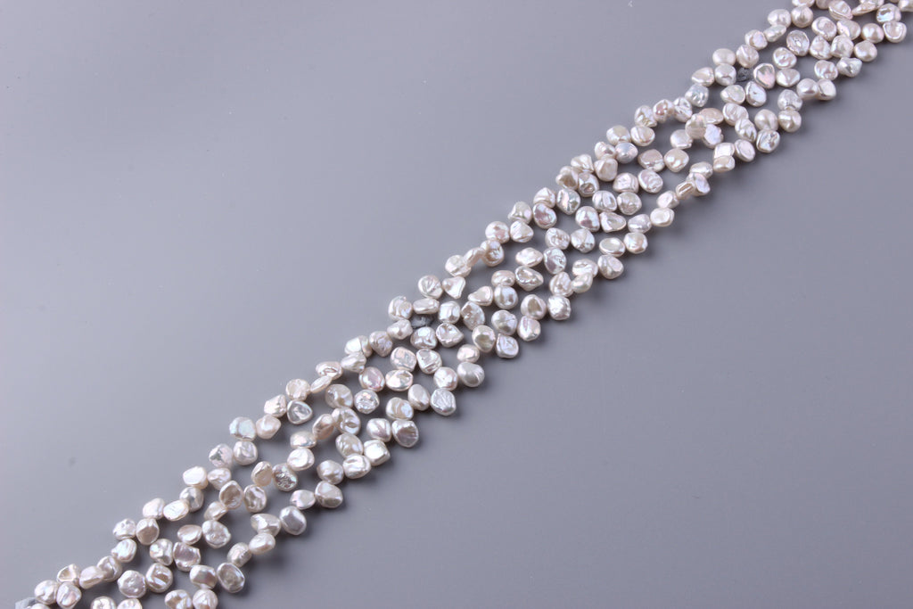 Keshi Shape Freshwater Pearl 7-7.5mm (SKU: 917408 / 1004214) - Wing Wo Hing Jewelry Group - Pearl Jewelry Manufacturer
