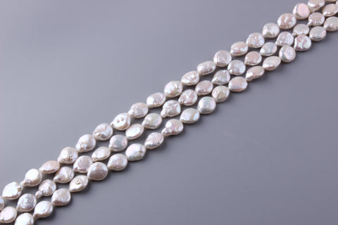 Coin Shape Freshwater Pearl 14-15mm (SKU: 918408 / 1004166)