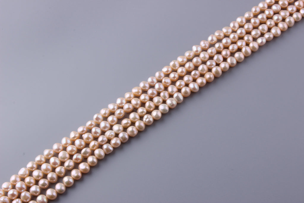 Nugget Shape Freshwater Pearl 9-9.5mm (SKU: 919208 / 1005501) - Wing Wo Hing Jewelry Group - Pearl Jewelry Manufacturer