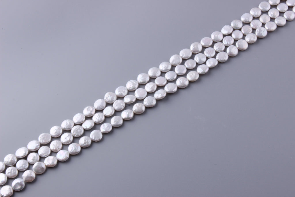Coin Shape Freshwater Pearl 11-12mm (SKU: 920508 / 1004182) - Wing Wo Hing Jewelry Group - Pearl Jewelry Manufacturer