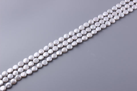 Coin Shape Freshwater Pearl 11-12mm (SKU: 920508 / 1004182)