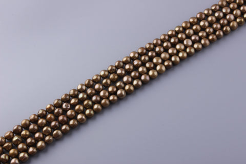Round Shape Dyed Color Freshwater Pearl 11-11.5mm (SKU: 920508 / 1006292)