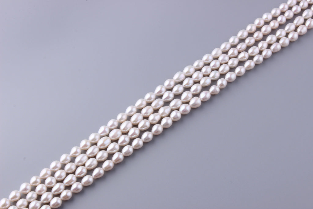 Oval Shape Freshwater Pearl 8.5-9.5mm ( SKU: 921208 / 1002241) - Wing Wo Hing Jewelry Group - Pearl Jewelry Manufacturer