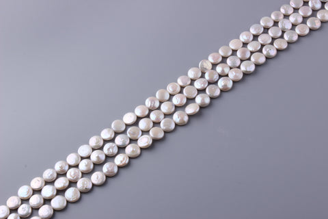 Coin Shape Freshwater Pearl 12-13mm (SKU: 922108 / 1004179)