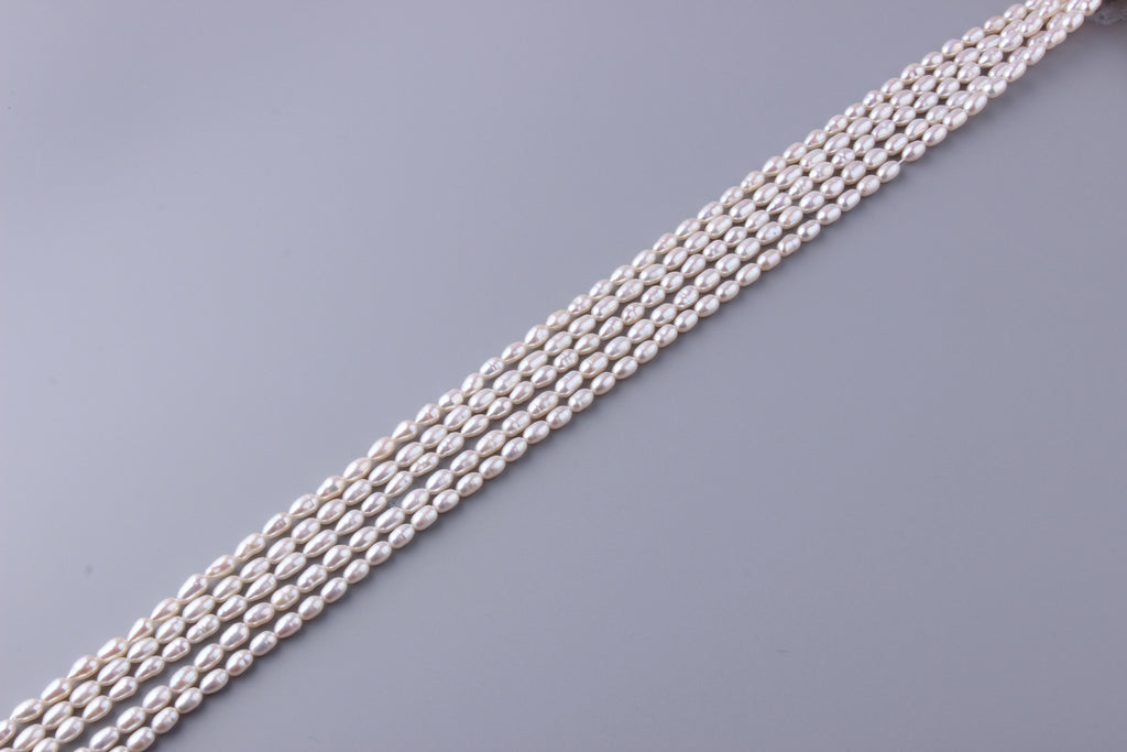 Oval Shape Freshwater Pearl 4.5-5mm (SKU: 924108 / 1002896) - Wing Wo Hing Jewelry Group - Pearl Jewelry Manufacturer