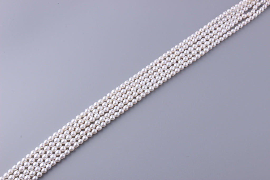 Oval Shape Freshwater Pearl 5-5.5mm (SKU: 927008 / 1005843) - Wing Wo Hing Jewelry Group - Pearl Jewelry Manufacturer