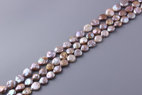 Coin Shape Freshwater Pearl 15-17mm (SKU: 927208 / 1004578)