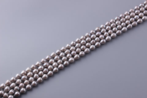 Oval Shape Dyed Color Freshwater Pearl 9.5-10mm (SKU: 927808 / 1003866)