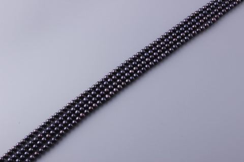 Round Shape Dyed Color Freshwater Pearl 6-6.5mm (SKU: 932408 / 151280)