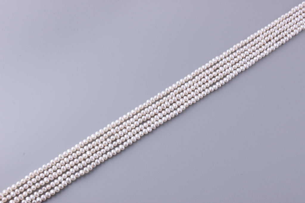 Round Shape Freshwater Pearl 4-4.5mm (SKU: 933408 / 1005410) - Wing Wo Hing Jewelry Group - Pearl Jewelry Manufacturer