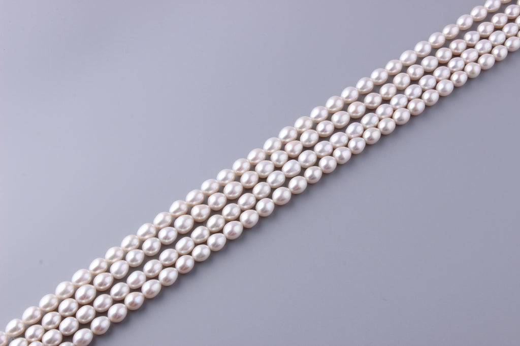 Oval Shape Freshwater Pearl 8.5-9.5mm ( SKU: 935108 / 1002243) - Wing Wo Hing Jewelry Group - Pearl Jewelry Manufacturer