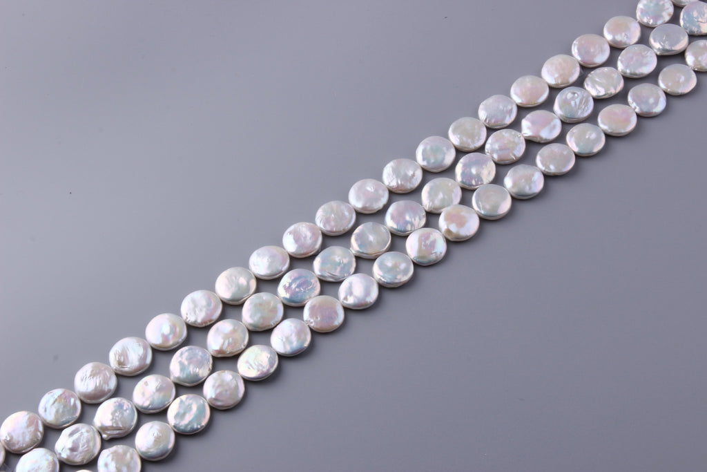 Coin Shape Freshwater Pearl 10.5-16mm (SKU: 935108 / 1004165) - Wing Wo Hing Jewelry Group - Pearl Jewelry Manufacturer