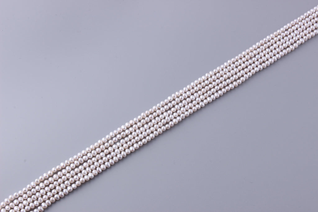 Round Shape Freshwater Pearl 4-4.5mm (SKU: 940208 / 1005411) - Wing Wo Hing Jewelry Group - Pearl Jewelry Manufacturer