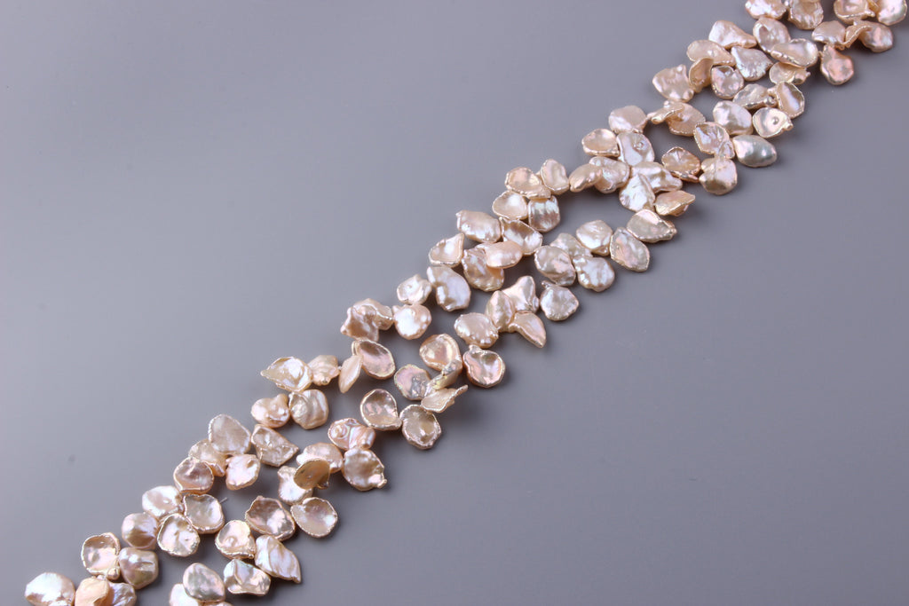 Keshi Shape Freshwater Pearl 9.5-12.5mm (SKU: 946308 / 1004557) - Wing Wo Hing Jewelry Group - Pearl Jewelry Manufacturer