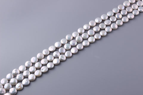 Coin Shape Freshwater Pearl 11-15mm (SKU: 952308 / 1003220)