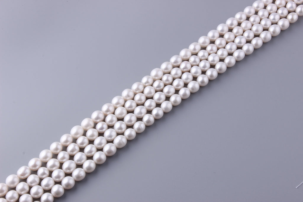 Oval Shape Freshwater Pearl 10.5-11.5mm (SKU: 964208 / 1002222) - Wing Wo Hing Jewelry Group - Pearl Jewelry Manufacturer