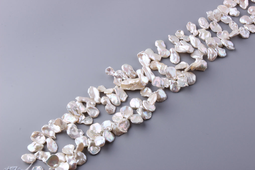 Keshi Shape Freshwater Pearl 10.5-16mm (SKU: 966408 / 1004464) - Wing Wo Hing Jewelry Group - Pearl Jewelry Manufacturer