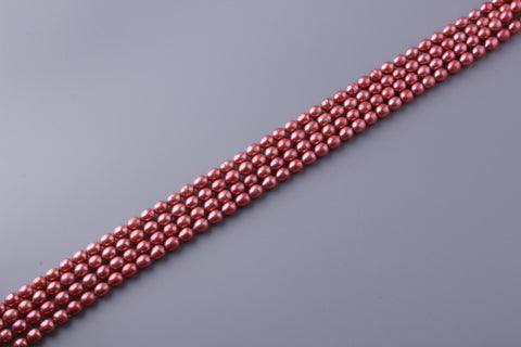 Oval Shape Dyed Color Freshwater Pearl 7-7.5mm (SKU: 97608 / 1003942)