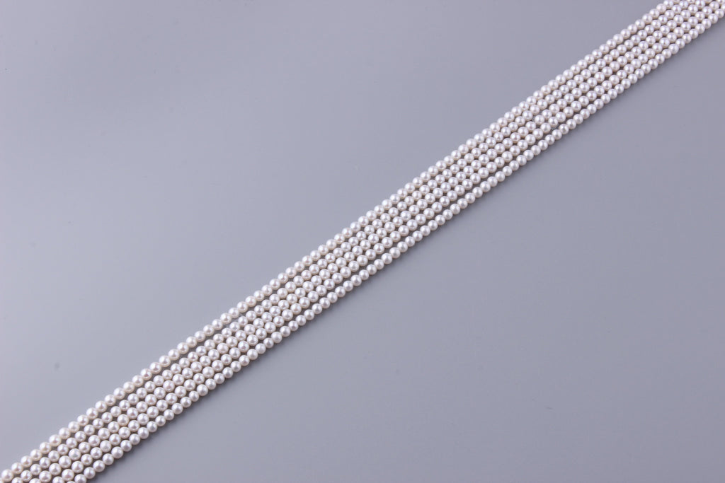 Round Shape Freshwater Pearl 4-4.5mm (SKU: 976308 / 1002841) - Wing Wo Hing Jewelry Group - Pearl Jewelry Manufacturer