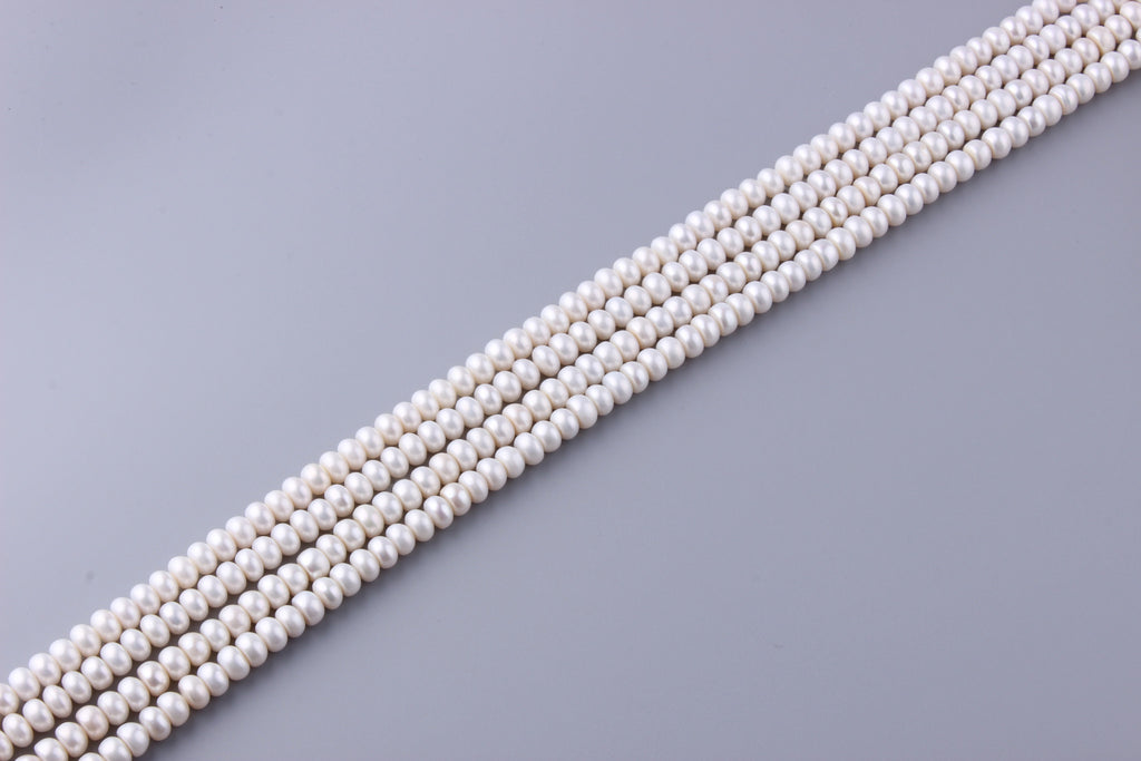 Roundel Shape Freshwater Pearl 8-8.5mm (SKU: 97708 / 1006602) - Wing Wo Hing Jewelry Group - Pearl Jewelry Manufacturer