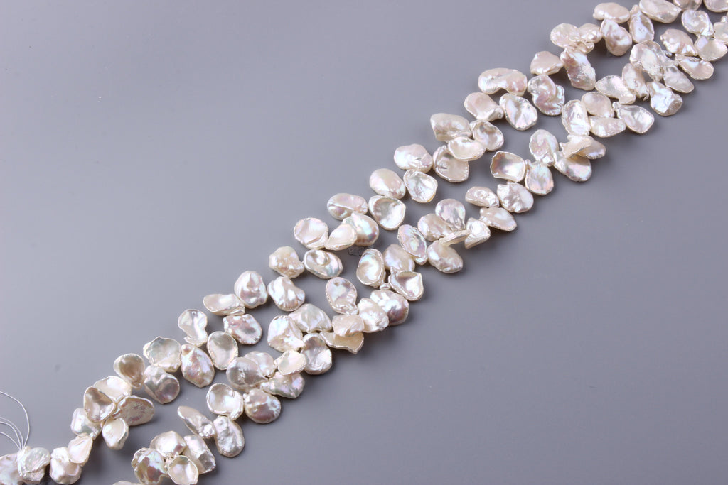 Keshi Shape Freshwater Pearl 10.5-12.5mm (SKU: 978308 / 1004465) - Wing Wo Hing Jewelry Group - Pearl Jewelry Manufacturer