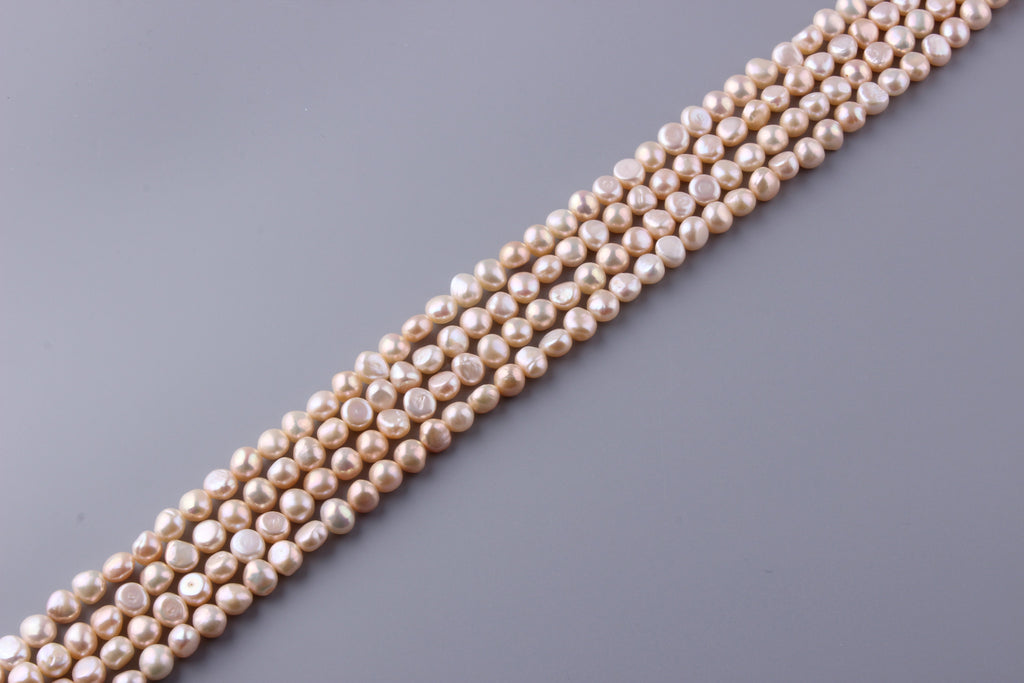 Nugget Shape Freshwater Pearl 8.5-9mm (SKU: 98108 / 1002194) - Wing Wo Hing Jewelry Group - Pearl Jewelry Manufacturer