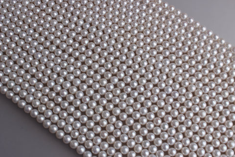 Round Shape Freshwater Pearl 6-6.5mm (SKU: 9120008)