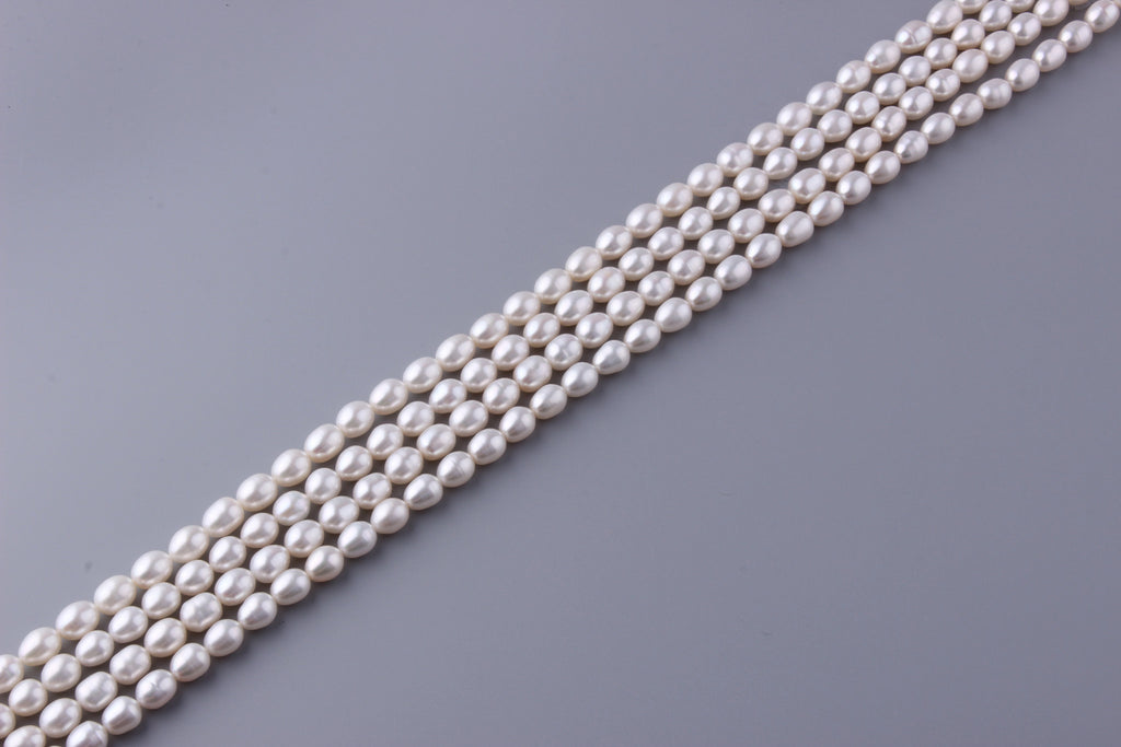 Oval Shape Freshwater Pearl 8-8.5mm (SKU: 923708 / 1002258) - Wing Wo Hing Jewelry Group - Pearl Jewelry Manufacturer