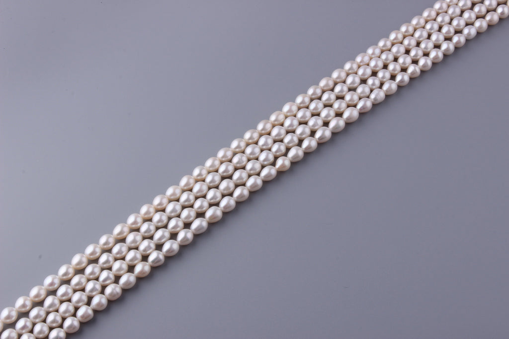 Oval Shape Freshwater Pearl 8-8.5mm (SKU: 918208 / 1002260) - Wing Wo Hing Jewelry Group - Pearl Jewelry Manufacturer