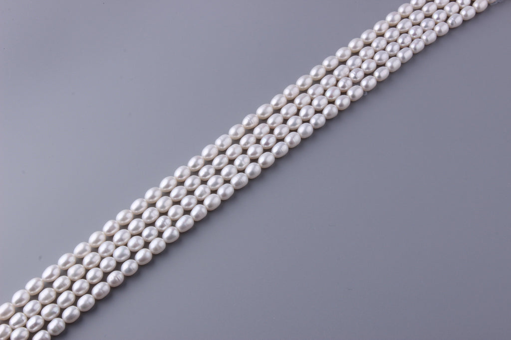 Oval Shape Freshwater Pearl 7.5-8mm (SKU: 911208 / 1002292) - Wing Wo Hing Jewelry Group - Pearl Jewelry Manufacturer