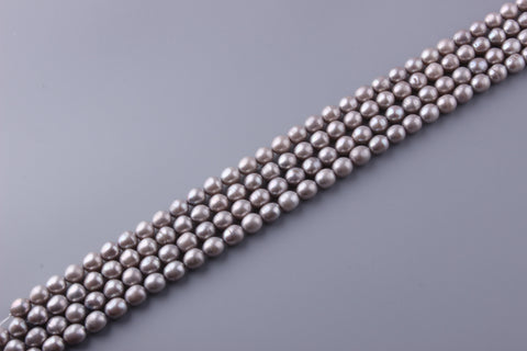 Oval Shape Dyed Color Freshwater Pearl 10-10.5mm (SKU: 929108 / 1003865)