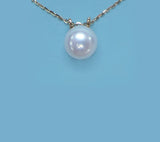 14K Yellow Gold Freshwater Pearl Necklace - Wing Wo Hing Jewelry Group - Pearl Jewelry Manufacturer